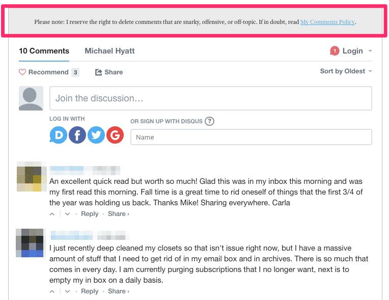 comentarios nofollow