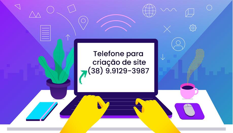 telefone de empresa de criação de sites para empresa