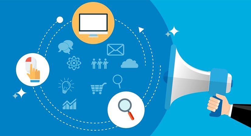 Campanha de marketing para comércio eletrônico