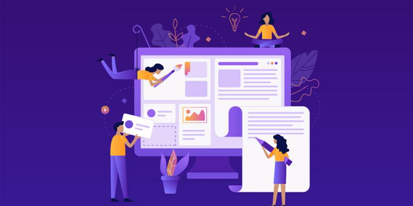 criação de sites por conta propria
