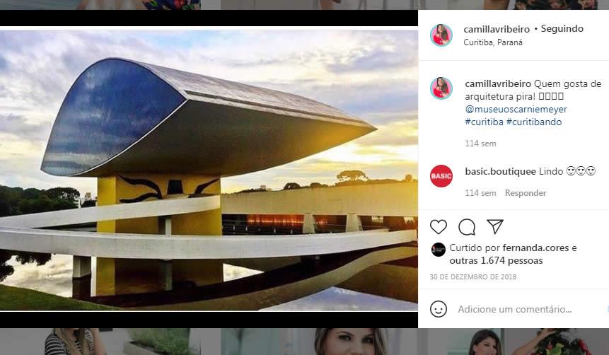 Famoso Instagram fotos de lugares