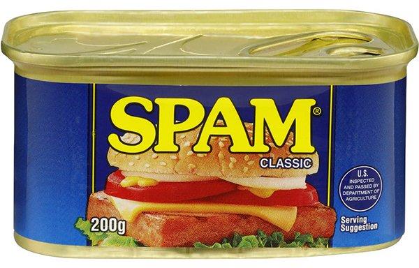Spam o que é - spam carne enlatada